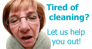 Tired of Cleaning? Let Us Help You Out! - Domestic cleaning services for clients in West Yorkshire